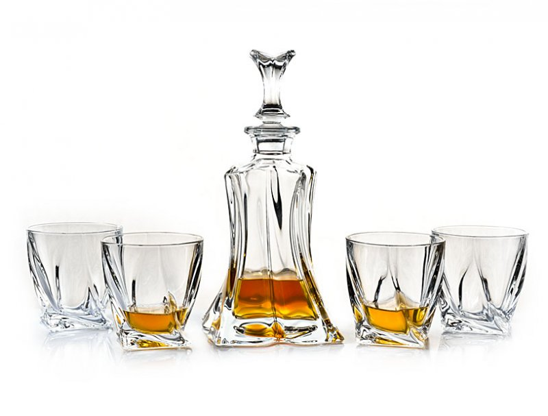FLORALE whisky set 1+4 *