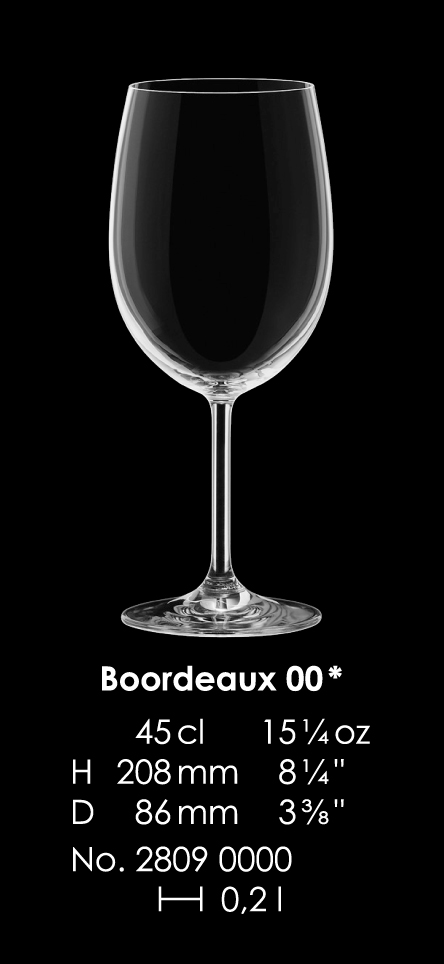 Kalich MAXIMA MEDIUM Bordeaux 450 ml DOPREDAJ