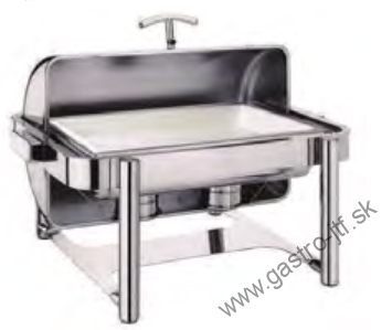 Chafing DE LUXE  75x51x35cm
